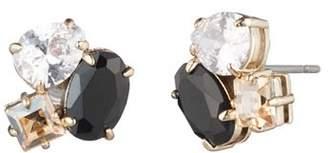Carolee Stone Cluster Stud Earrings