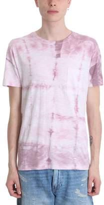 Levi's Pink Cotton T-shirt