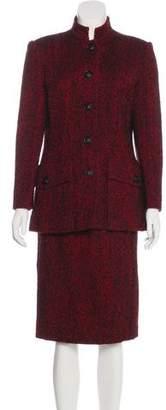 Pierre Balmain Wool-Blend Skirt Suit
