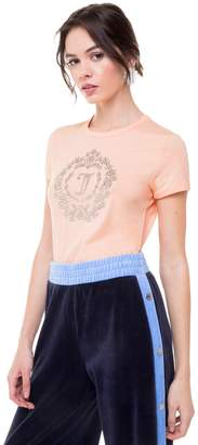 Juicy Couture Encrusted Cameo Tee