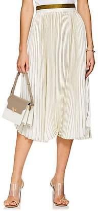 MANNING CARTELL Women's Vertical Limit Pleated Tech-Satin Skirt