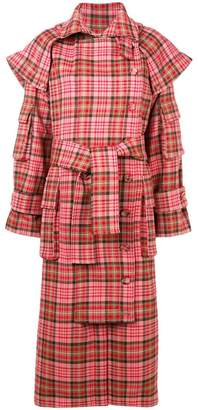 Zimmermann checked trench coat