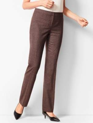 Talbots Italian Luxe Tweed Straight-Leg Pants