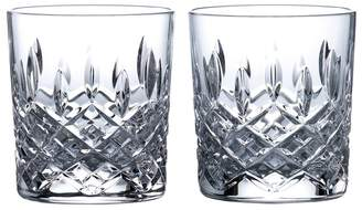 Royal Doulton Set Of 2 Lead Crystal 'Highclere' Tumblers