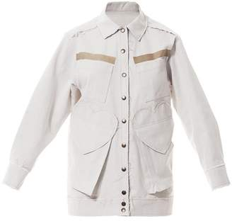 Talented White Denim Jacket
