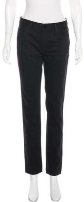 Alexander Wang Mid-Rise Straight-Leg Jeans