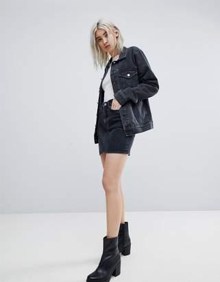 Weekday Denim Mini Skirt