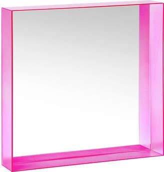 Kartell Only Me Mirror - Fuchsia - 50x50cm
