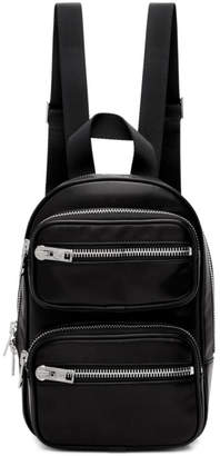 Alexander Wang Black Medium Attica Backpack