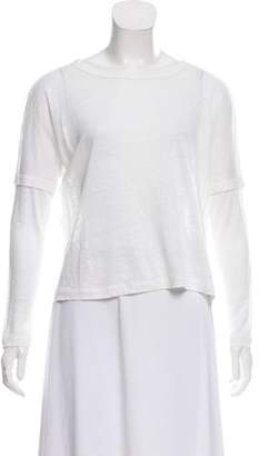 Rag & Bone Oversize Linen Top