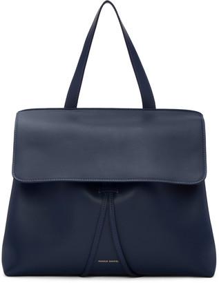 Mansur Gavriel Navy Leather Lady Bag $1,195 thestylecure.com