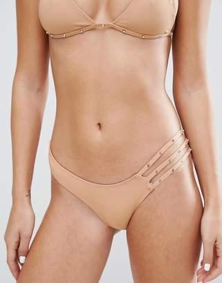 Minimale Animale Studded Bikini Bottom