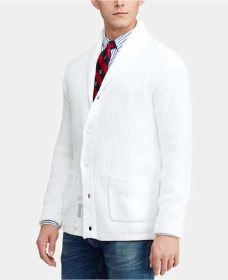 Polo Ralph Lauren Men Shawl-Collar Cotton Cardigan