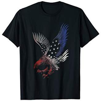 Patriotic T Shirt Apparel Eagle American Flag USA Clothing