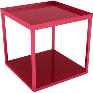 Atlantic Modular Side End-Table, Red