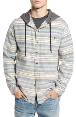 Billabong Baja Hooded Flannel Shirt