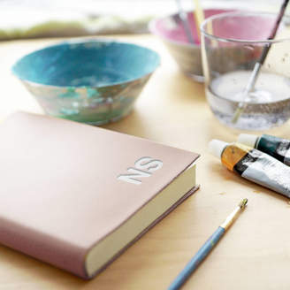 Atticus Hand Painted Leather Personalised Journal