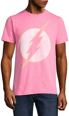 Novelty T-Shirts DC Pastel Flash Graphic Tee