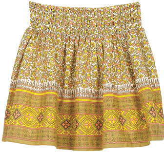 Pretty Paisley Skirt