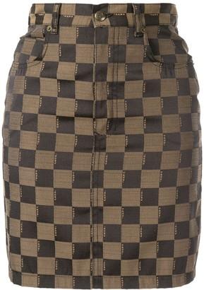 Fendi Pre-Owned logo skirt