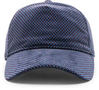 68aa02ca Rag & Bone Marilyn Baseball Cap in Blue Multi | FWRD