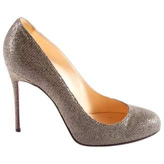Pre-owned - Fifi cloth heels Christian Louboutin 3LMLI