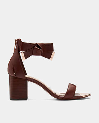 Ted Baker LOOPIEL Leather block heeled sandals