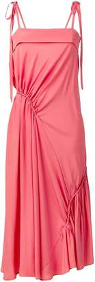 Cédric Charlier pink party dress