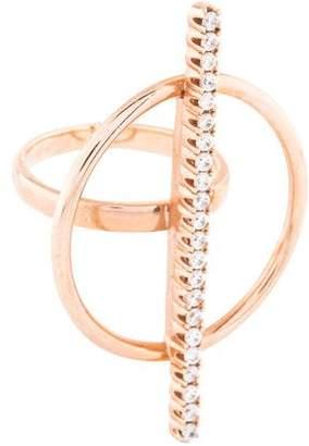 Ryan Storer Crystal Bar Ring