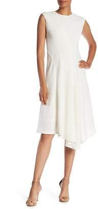 Lafayette 148 New York Aveena Wool Asymmetrical Hem Dress