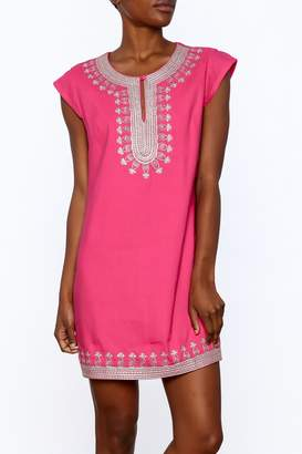 Ark & Co Pink Tunic Dress