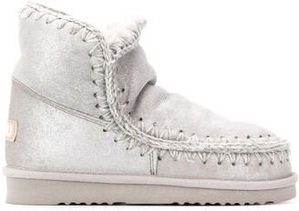Mou Eskimo metallic boots