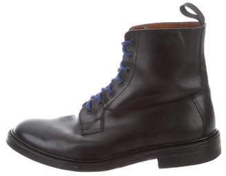 Tricker's Trickers Leather Combat Boots