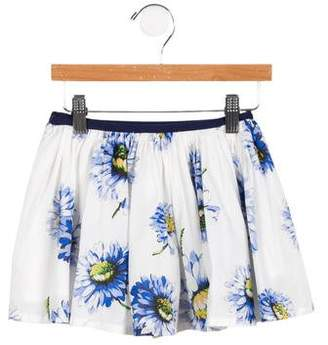 Morley Girls' Mona Gerbera Delift Skirt w/ Tags