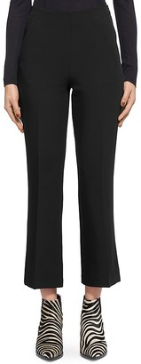 Whistles Cropped Flare Pants $230 thestylecure.com