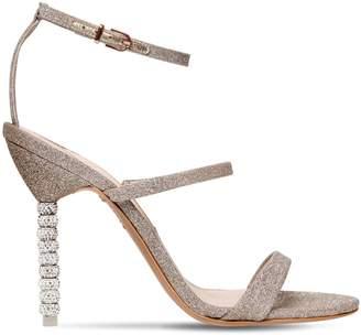 Sophia Webster 100mm Rosalind Glittered Sandals