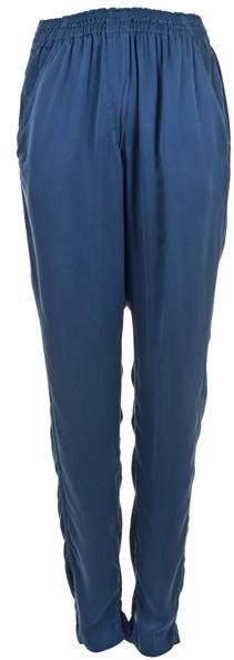 ISABEL MARANT - Silk harem trousers