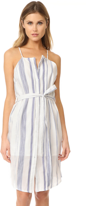 J.O.A. Stripe Button Down Sheath Dress $85 thestylecure.com