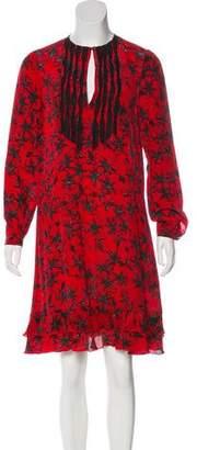 Zadig & Voltaire Printed Silk Dress