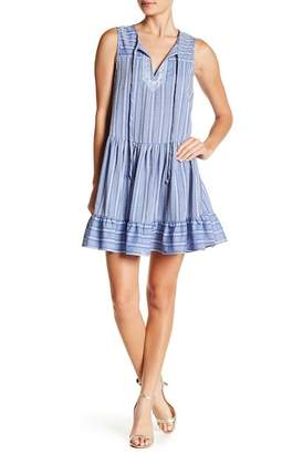 BCBGeneration Ruffled Hem Aline Dress