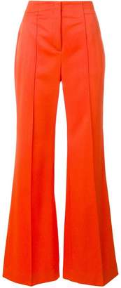 Schumacher Dorothee high-waisted flared trousers