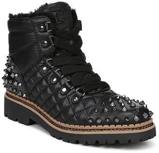 Sam Edelman Women's Bren Quilted Studded Hiking Boots