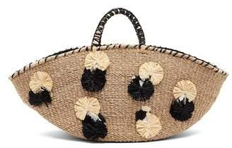ARANAZ Carosa Straw Tote Bag