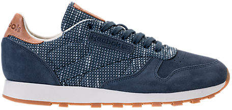 Reebok Men's Classic Leather EBK Casual Shoes