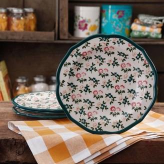 THE PIONEER WOMAN The Pioneer Woman Fall Flowers Salad Plate Set, 4-Pack