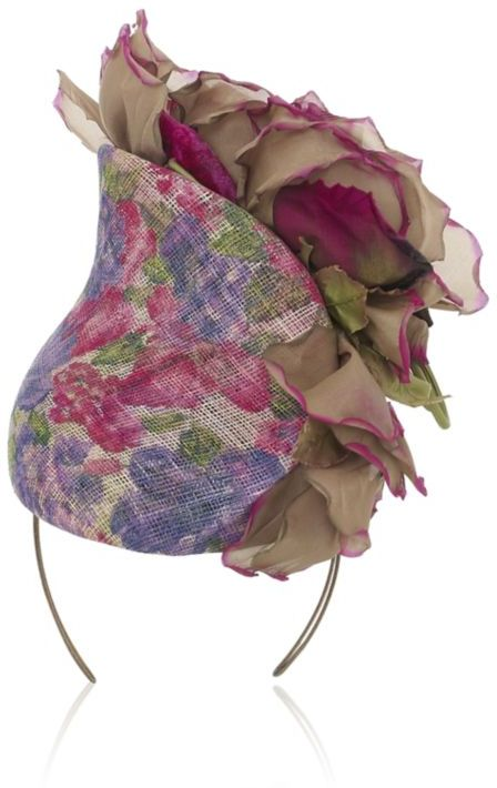 Philip Treacy Flower Cascade Hat
