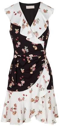Keepsake Evolve Floral-print Wrap Dress