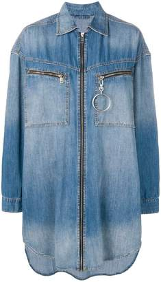 Diesel oversized denim shirt