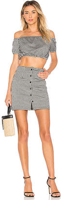 by the way. Judith Button Skirt Set