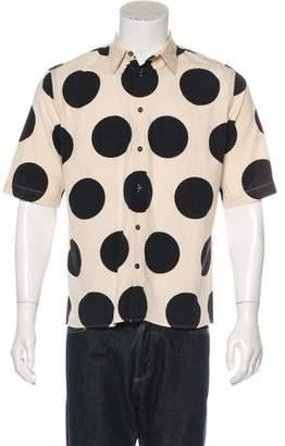 Marni Poplin Ink Dot Shirt